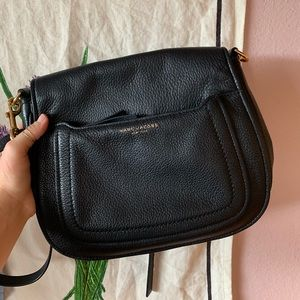 Empire City Leather Messenger purse